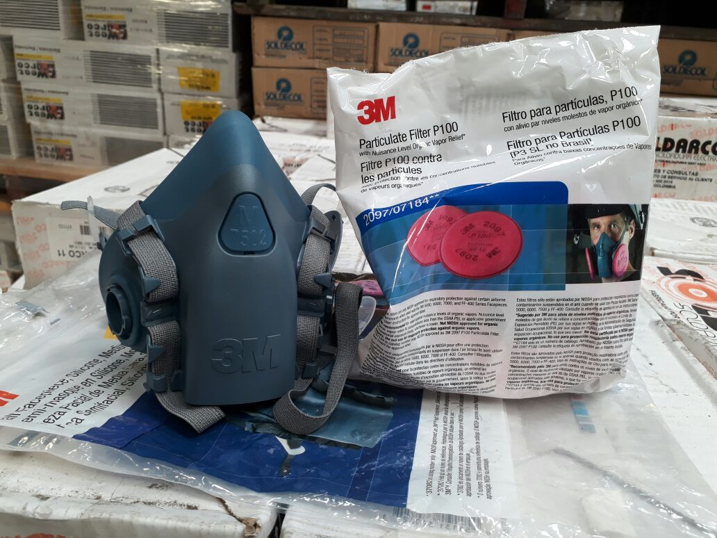 respirador para soldador