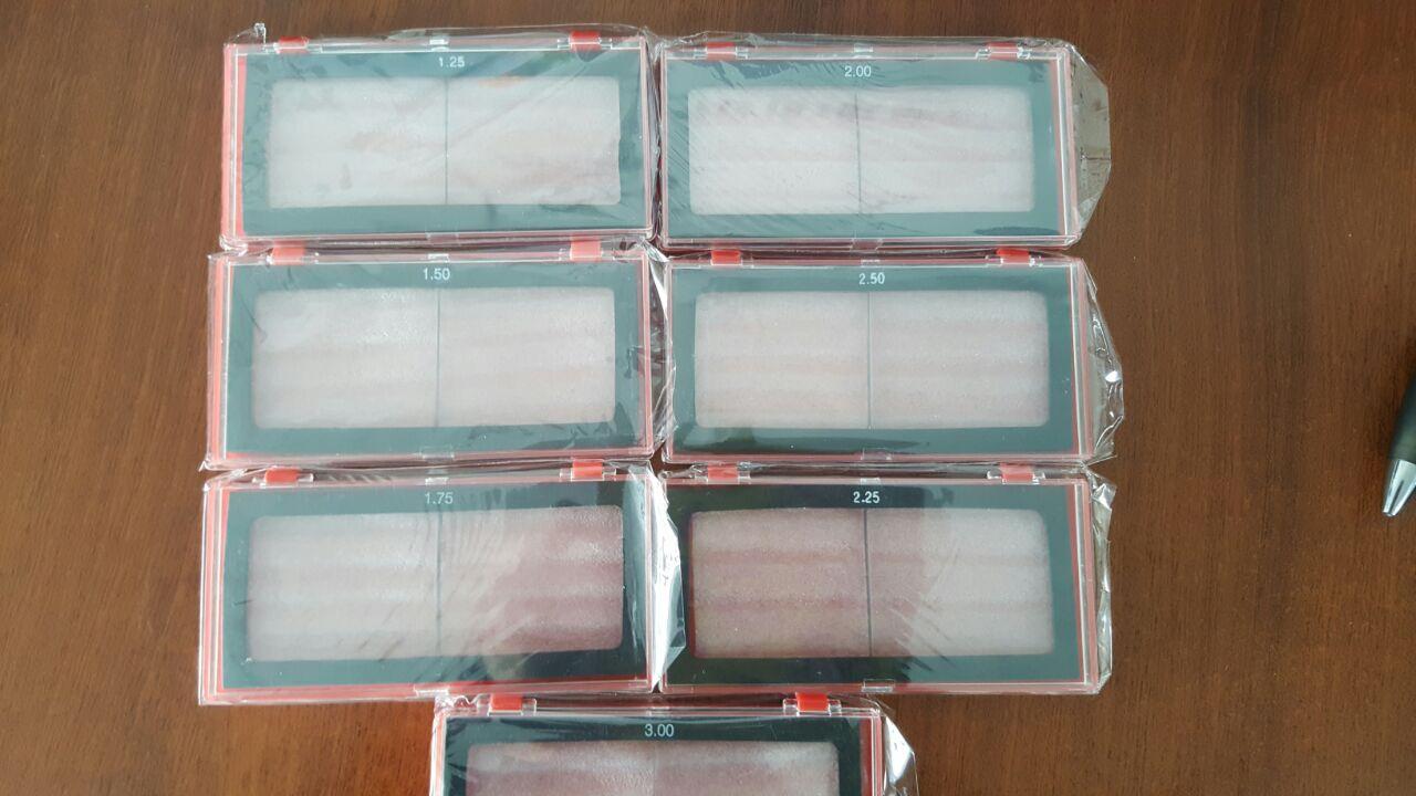 vidrio de aumento soldar
