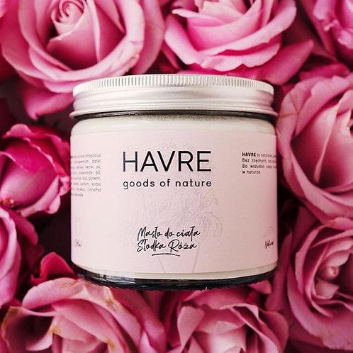 Havre - Masło do ciała Słodka Róża