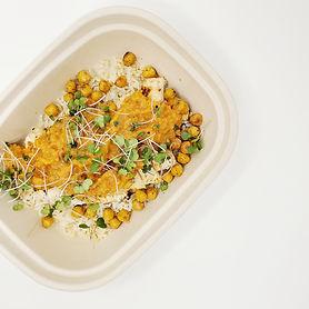 Eggplant Bliss Bowl with Mint & Cilantro