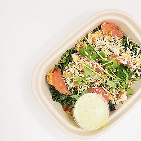 Crispy Kale Salad with Ginger & Coconut2