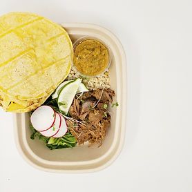 Slow Cooked Barbacoa Tacos with Tomatill