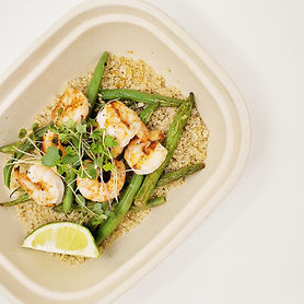 Old Bay Shrimp with Quinoa _ Limey Green
