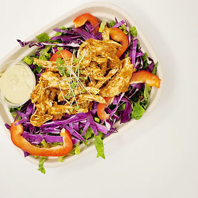 Shredded Curried Chicken Salad with Avoc