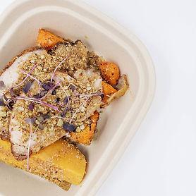 Dukkah Spiced Pork Loin & Garlic Roasted