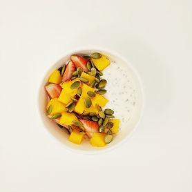 Strawberry Almond Mango Yogurt Parfait2.