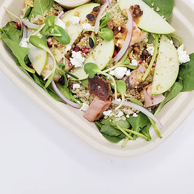 Pomegranate Winter Salad with Lemon Tahi