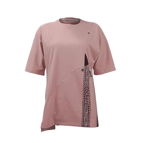 Woman's Gauze Tee Pink