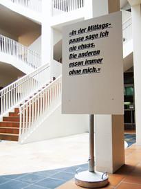 Ausstellung für die Caritas Zürich