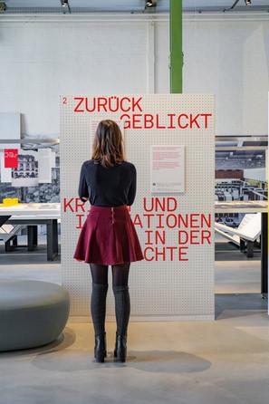 System Reset im Museum Schaffen. Foto: J