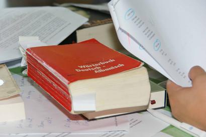 Foto von einer Schreibwerkstatt der Caritas Zürich