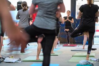 Yoga im Museum Schaffen