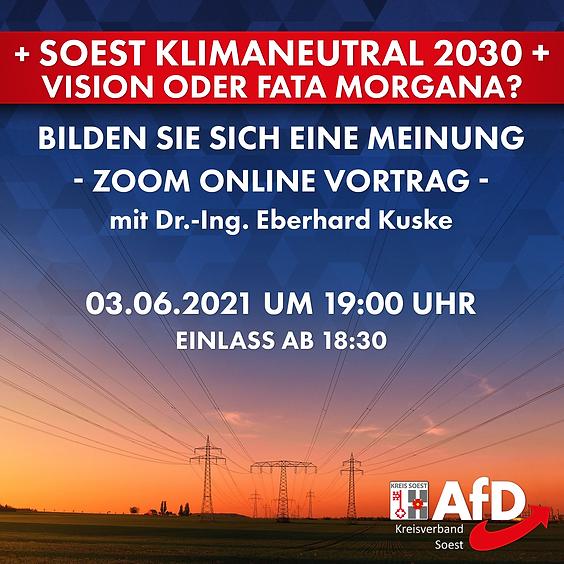 Soest Klimaneutral 2030 - Vision oder Fata Morgana?
