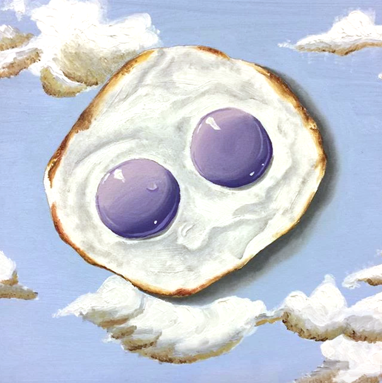 Purple Sky Egg