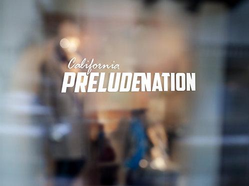 California Prelude Nation Sticker
