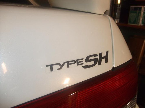 """Type SH"" replacement decal"