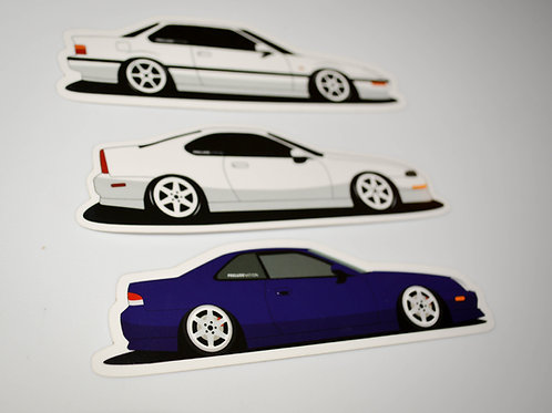 Prelude Side View Stickers