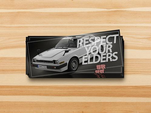 Respect Your Elders Sticker