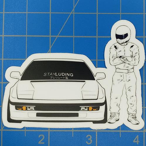 """3rd Gen """"The Stig"""" Sticker"""