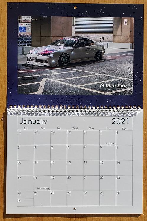 2021 Prelude Nation Calendar