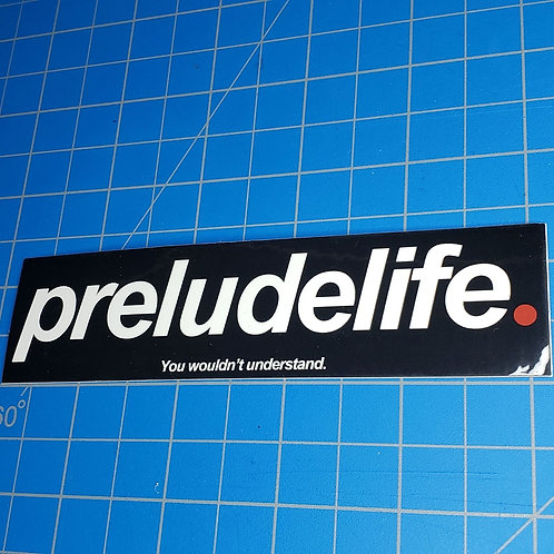 PreludeLife Sticker