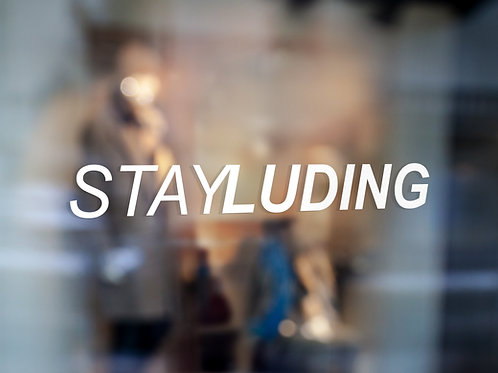 Stay Luding Decals