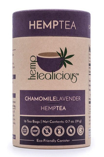 Chamomille & Lavender Hemptea - 16 Tea Bags