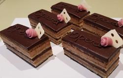 Petit Fours   Opera Cakes