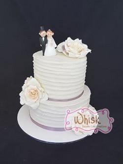 Wedding Cake | Tiered Horizontal Buttercream