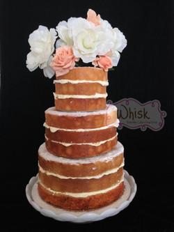 Wedding Cake | Tiered Naked Cake