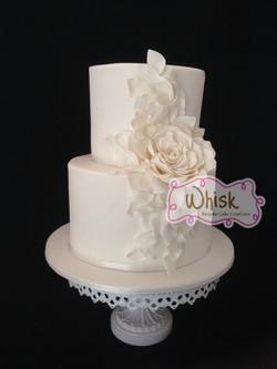 Wedding Cake | Tiered Cascade