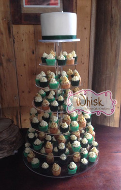 Wedding Cake | Mini Cupcake Tower