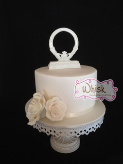 Wedding Cake |Single Tier Roses