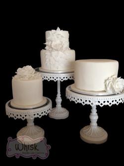 Wedding Cake | Three Cakes