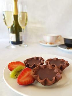 Petit Fours   Rich Chocolate Tart