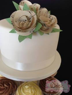 Wedding Cake | Flower Topper