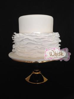 Wedding Cake | Ruffled Tier