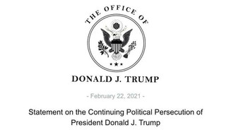 President Trump Releases Statement Regarding SCOTUS Decision on his Tax Statements