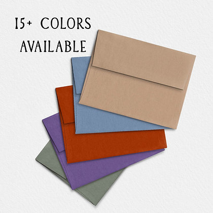 A2 Colored Envelopes -Pack of 10