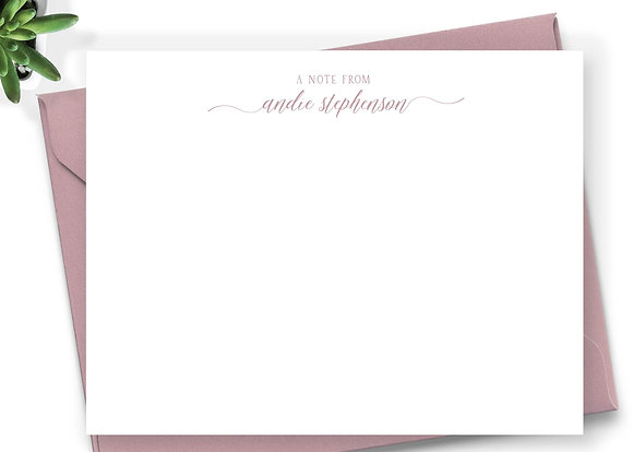 Personalized Stationery - PS03