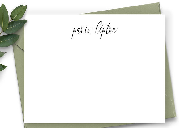 Personalized Stationery - PS19