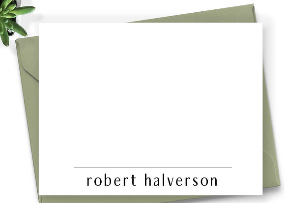 Personalized Stationery - PS08