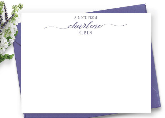 Personalized Stationery - PS01