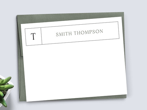 Line Note Cards - MS03