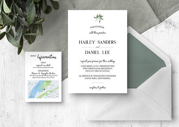 Simple Greens Invitation