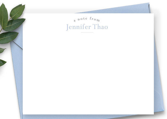 Personalized Stationery - PS06