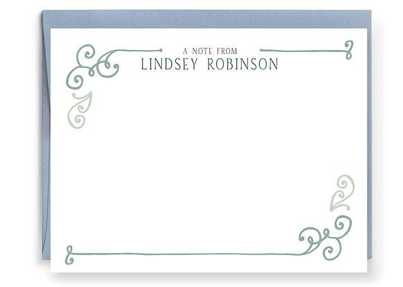 Flourish Note Cards
