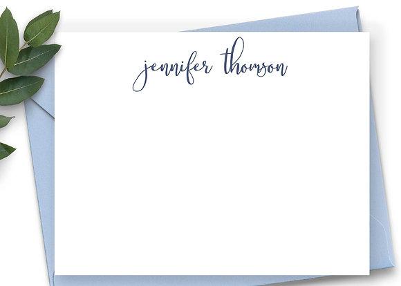 Modern Script Note Cards