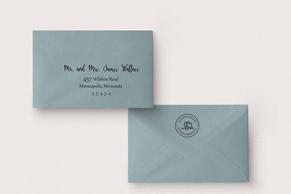 Guest & Return Address - Front & Back