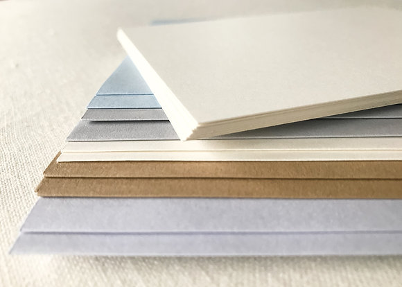 Blank Note Cards with Variety Envelopes